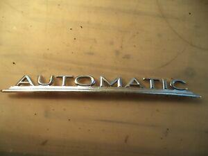 Mercedes Ponton Typenschild Automatic 6825