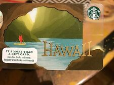 2016 NEW Starbucks Hawaii Limited Edition Cave Canoe Gift Card **JUST RELEASED**