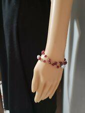 Women's Jewelry Liz James Designer Bracelet With 3 Large Pearls and Beeds