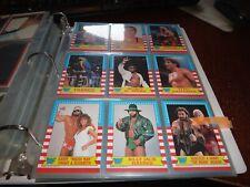 1987 WWF Pro Wrestling Stars Series 1 opc wrestlemania 3 complete set wrapper +