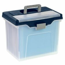 "Office Depot Brand Mobile File Box, Large, Letter Size, 11 5/8"" x 13 13/6"" x 10"""