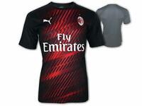 Puma AC Milan Stadium Shirt schwarz AC Mailand Aufwärmtrikot ACM Jersey S-XXL