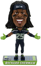 Richard Sherman Seattle Seahawks Caricature Bobblehead Forever Collectibles NFL