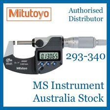 Genuine Mitutoyo Coolant Proof 293-340 Micrometer 0-25mm 0.001mm Australia Stock