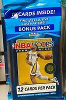 2019-20 Panini Hoops NBA Basketball Premium Stock Bonus Pack - Ja, Zion, Herro