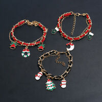 Tissage manuel Un cadeau de Noël Bijoux Buck Bracelet de Noël Père Noël Perle