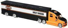 MAISTO 5592 - Harley Davidson Two-Toned Graphics Custom Hauler  - 1/64 Scale
