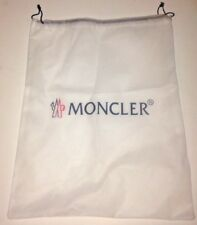 Genuine/Authentic MONCLER Fabric Logo Printed Dustbag with Drawstring