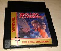 Tengen Rolling Thunder Nintendo NES Vintage original retro game cartridge