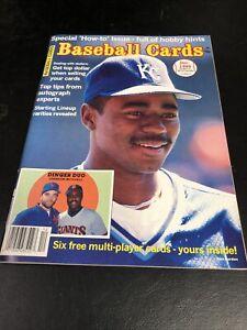 December  1989 Baseball Cards Magazine 6 Card Insert Gwynn Puckett Ryan Sandberg