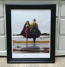 The Road to Nowhere by Jack Vettriano Large Deluxe Framed Art Print Romantic