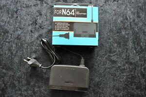 Nintendo 64 AC Stroomadapter N64 Nieuw