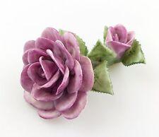 #e5098 PMP Porzellan Manufaktur Plaue Schierholz Blume Rose