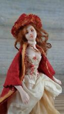 MINIATURE DOLL OOAK DOLLHOUSE 1/12 SCALE PORCELAIN FOREST WITCH