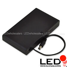 12V LED Portable Battery Pack w On/Off Switch & 5mm DC Output Jack for 8xAA