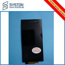 PANTALLA PARA Sony Xperia Z1 L39H Negra TACTIL LCD Completa DISPLAY Negro