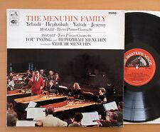 ALP 2280 The Menuhin Family Mozart Three Piano Concerto 1966 EMI Mono EX/EX