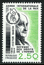 France 2008, MNH.Victor Basch,French politician,professor of germanistics,1986