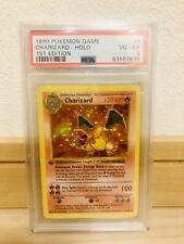 Charizard 1999 1st Edition Pokemon Base Set Shadowless Holo 4/102 PSA 4 VG-EX