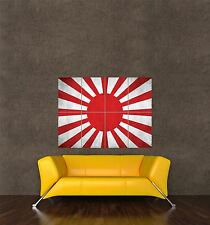 POSTER STAMPA BANDIERA RISING SUN Ufficiale Esercito Imperiale Giapponese Banner seb258