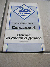 BROCHURE,1959 Donne in cerca d'amore The Best of Everything,Jean Negulesco,Boyd