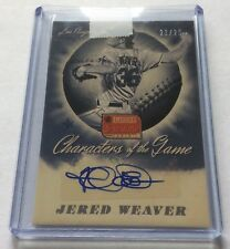 Jered Weaver 2013 America's Pastime Characters of the Game Auto #21/25