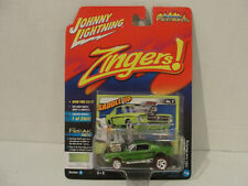 '65 FORD MUSTANG GREEN ZINGERS STREET FREAKS JOHNNY LIGHTNING DIECAST 2017