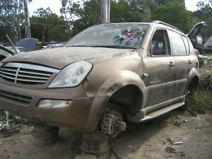 WRECKING 2005 05 Ssangyong Rexton wagon - Wheel Nut (see images/descr) X628 AB4