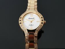 Ingersoll Gems Ladies Gold Plated Bracelet Watch.