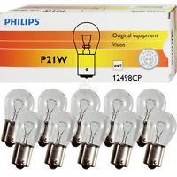 Philips P21W 12V 21W BA15s Vision Premium Set 10 Stück Lampe Birne