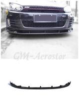 Fiber Glass FRP GTI Type-2 Front Lip For 2009-2012 Golf MK6