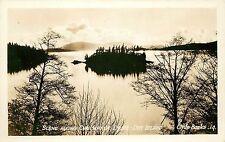 RPPC Postcard; Chuckanut Drive Scene, Dot Island WA, Banks 14, Skagit County