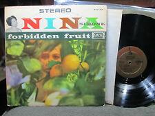 Nina Simone Forbidden Fruit LP stereo gold colpix scp419 rare '61 soul jazz viny