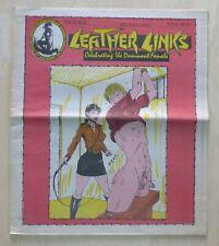 Leather Links #100 Vintage Erotica domination SM magazine sex 1970s