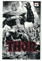 Thor #6 2020 2nd Printing 1:50 Nic Klein Wraparound Sketch Variant Cover Marvel