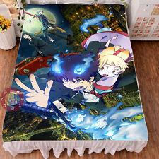 Anime Ao no Exorcist Okumura Rin Bedsheet Micro Fiber Blanket 150*200cm#13-EC36