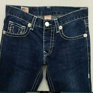 True Religion POINT GUARD SUPER T Mens  Jeans W30 L31.5 Blue Regular Straight