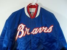 Vintage Atlanta Braves XL Starter Jacket Bomber Made in USA 80's