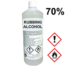 RUBBING ALCOHOL 70%25 %7c Choose Size! %7c 500mL, 1L + %7c Isopropyl Alcohol/Isopropanol