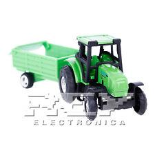 Tractor Remolque Caja Juguete Miniatura Vehículo Agrícola Rural j153