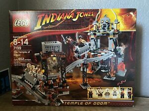 "LEGO Indiana Jones #7199 ""The Temple of Doom""- New In Sealed Box"