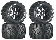 NEW DuraTrax Traxxas E-Maxx Revo Mounted Hatchet Tire / Wheel DTXC3586