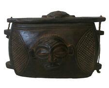 Chokwe Deckeldose Zentralafrika Kongo Angola Afrika Kunst
