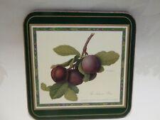 Pimpernel Coasters Hooker Fruits set of 5 England