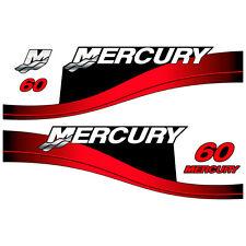 Mercury 60 outboard (1999-2004) decal aufkleber sticker set