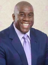SPORT MAGIC JOHNSON BASKETBALL CELEBRITY PORTRAIT SMILE POSTER PRINT LV11167