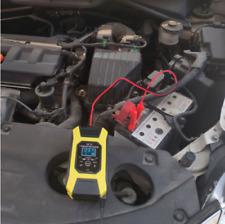 12  7A 120Ah Caricabatterie Mantenitore Batteria Cavetti Per Auto e Moto