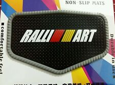 Car RALLIART Super Antiskid Cushion Dashboard Mat With Strong Stickness