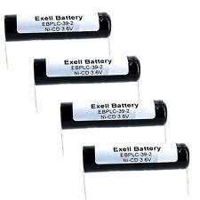 4x 3.6V Ni-CD PLC Comp Backup Battery Fits Lintronics N50SB3 Lucent 560 R&D 5482