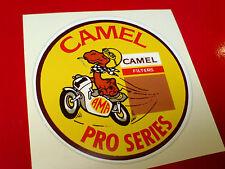 Camel Pro Series estilo vintage y retro Sticker Decal 1 De 80 Mm